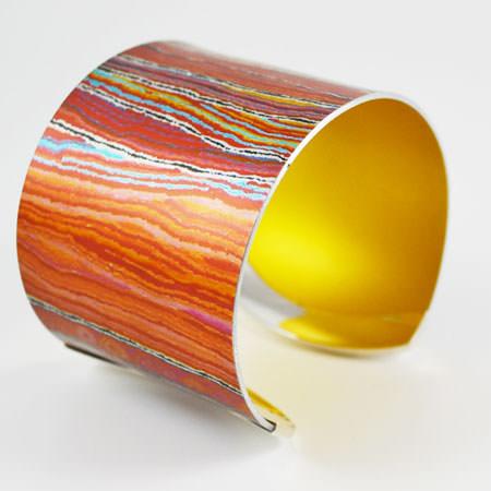 Desert Australian cuff bracelet