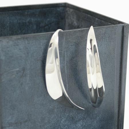 elegant-silver-earrings handmade in Australia
