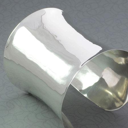 sterling silver cuff sleeve