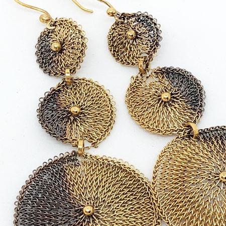 Long Vega earrings by Milena Zu