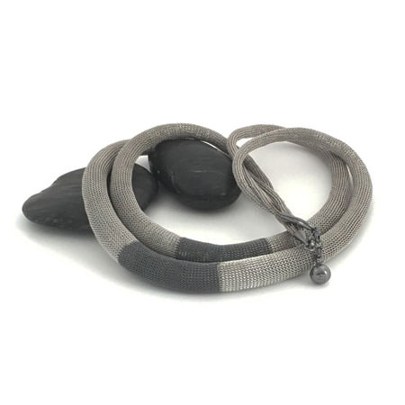 Milena Zu tube necklace. Medium double Mirzam necklace as part of our large range of Milena Zu jewellery