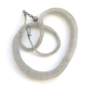 Mirzam steel necklace
