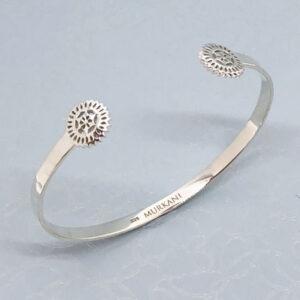 Lace doily delicate cuff