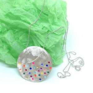 bold colour pop necklace