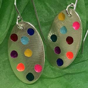 small colour pop earrings