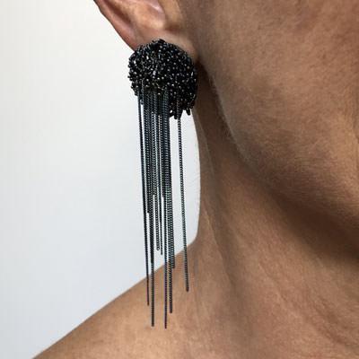 Beaded Pacht earrings