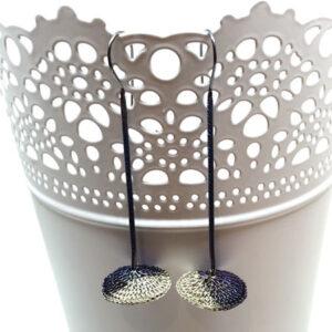 Vega disc earrings