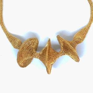 Gold Alhena necklace