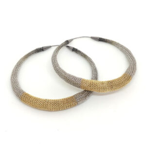 Large Canopus hoop earrings