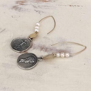 boho drop earrings