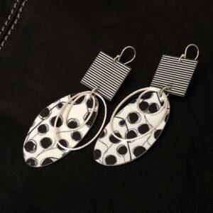 Midnight Storm earrings