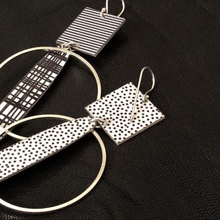 Midnight Sun earrings