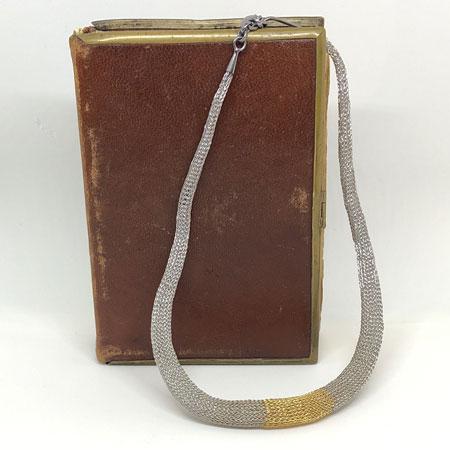 Short Mirzam mesh necklace