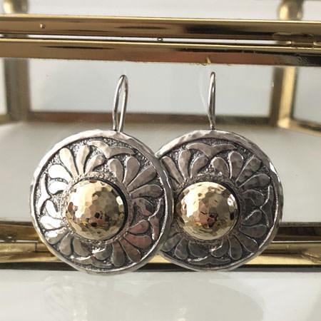 Margarita silver earrings