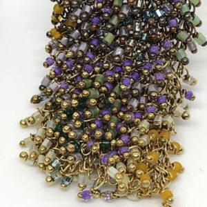 Long beaded Regulus earrings