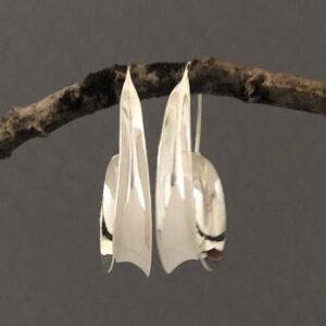 Australian spring silver earrings