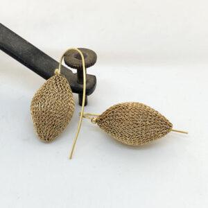 Gold Alcyone earrings