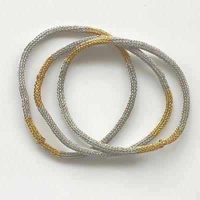 Thin Antares mesh bracelets