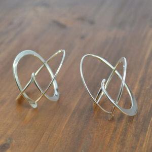 Australian silver earrings